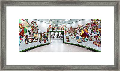 Mosaic Framed Print by Svetlana Sewell