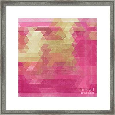Mosaico Framed Print by Mindy Sommers
