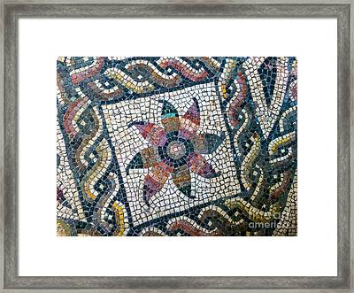 Mosaico Pavimentiale Framed Print by Joseph Yarbrough