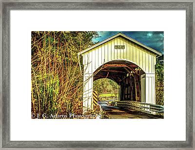 Mosby Creek Bridge Framed Print