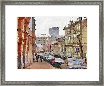 Moscow 14 Framed Print by Yury Malkov