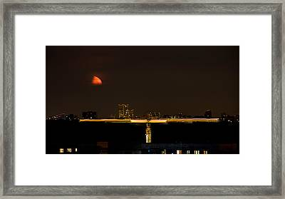 Moscow By Night Framed Print by Stelios Kleanthous