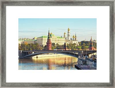 Moscow, Kremlin Framed Print