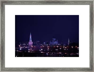 Moscow Kremlin Framed Print