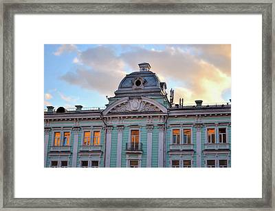 Moscow Monument Framed Print by JAMART Photography
