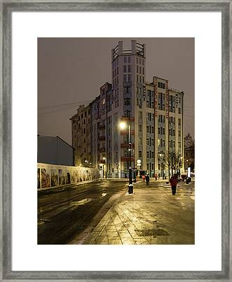 Moscow Morning 1 Framed Print