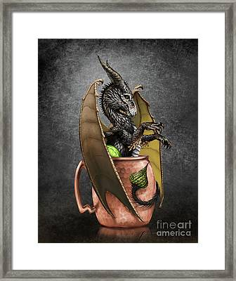 Moscow Mule Dragon Framed Print