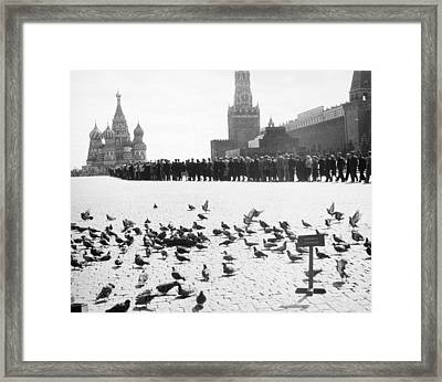Moscow: Red Square, 1958 Framed Print