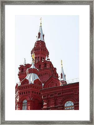 Moscow04 Framed Print by Svetlana Sewell