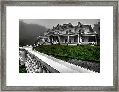 Moses H. Cone Manor Framed Print