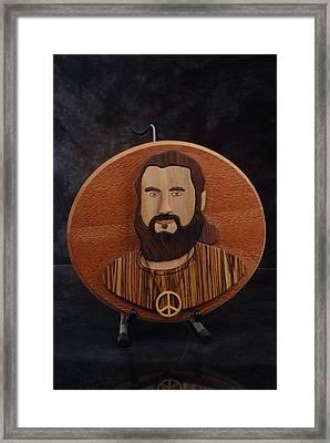 Moses Framed Print by Steve Weber