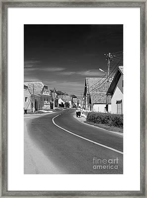 Mosna Village Framed Print by Gabriela Insuratelu