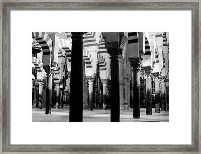 Mosque Cathedral Of Cordoba 3 Framed Print
