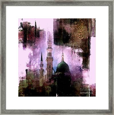 Mosque Nabvi  Framed Print by Gull G