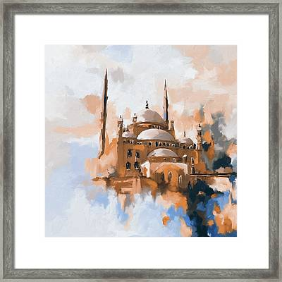 Mosque Of Muhammad Ali Pasha 418 II Framed Print by Mawra Tahreem