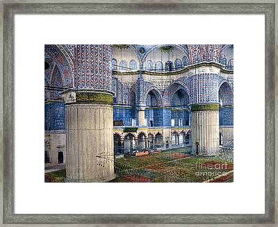 Mosque Of Sultan Ahmet I Framed Print