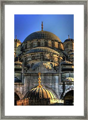 Framed Print featuring the photograph Mosque by Tom Prendergast