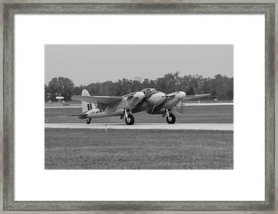 Mosquito  Framed Print by Aircraft  In Motion