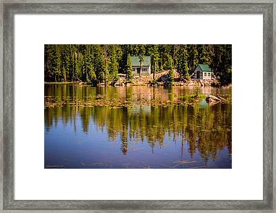 Mosquito Lake California 95223 Framed Print