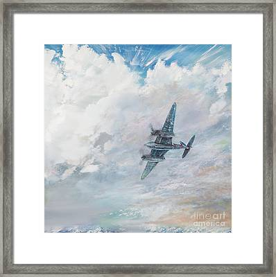 Mosquito Framed Print by Vincent Alexander Booth