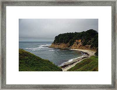 Moss Beach Framed Print