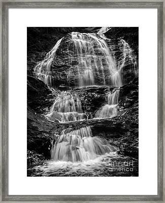 Moss Glen Falls Vermont Framed Print by Edward Fielding
