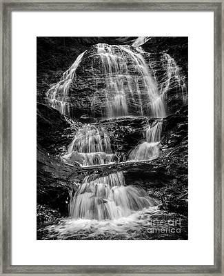 Moss Glen Falls Vermont Framed Print