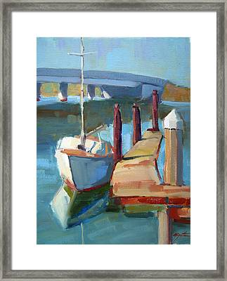 Moss Landing Morning Framed Print