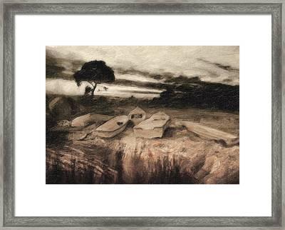 Moss Framed Print by Taylan Apukovska