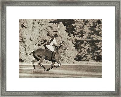 Most Forward Framed Print by JAMART Photography