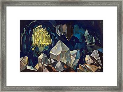 Most Sacred, Treasure Of The Mountains Framed Print