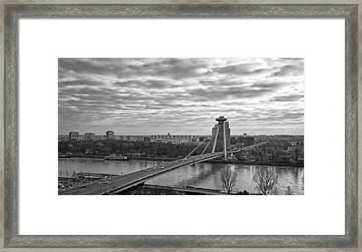 Most Snp Bridge Framed Print