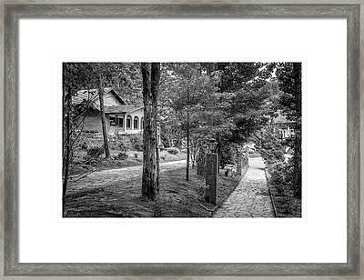Mosteiro Das Monjas Beneditinas-campos Do Jordao-sp Framed Print