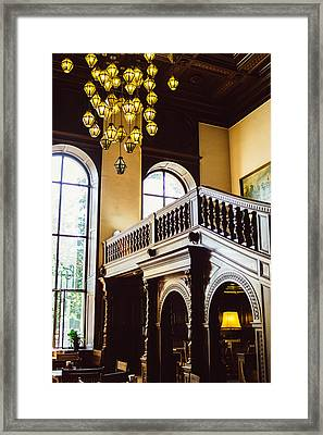Moszna Interior Framed Print