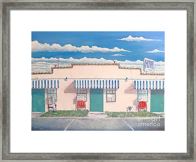 Motel Six . 1989 Framed Print by Wingsdomain Art and Photography