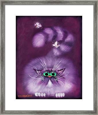 Moth Hunter Framed Print by Baron Dixon