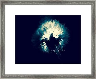 Moth Man Framed Print