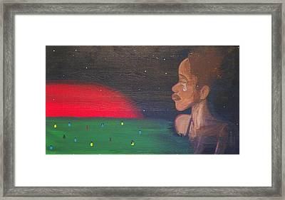 Mother Africa Framed Print by Maria Bowen