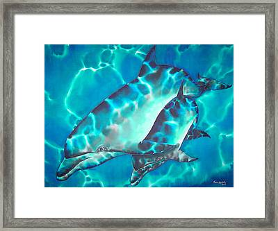 Mother And Baby Framed Print