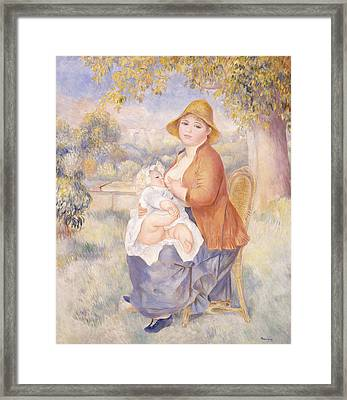 Mother And Child, Maternity Framed Print