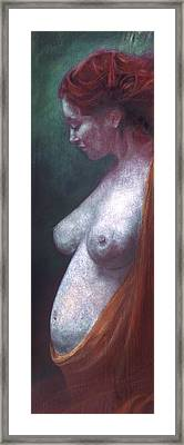 Framed Print featuring the painting Mother And Child by Ragen Mendenhall