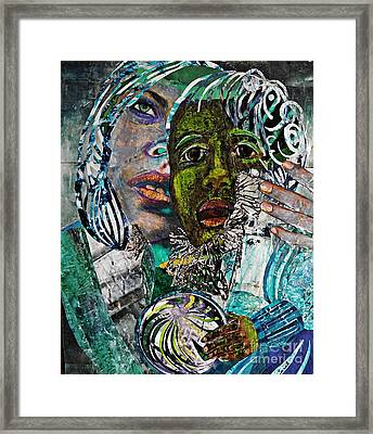 Mother And Child Framed Print by Sarah Loft