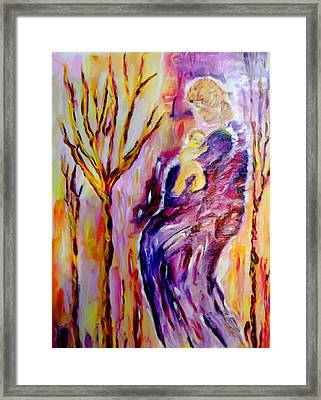 Mother And Child Framed Print by Shelley Bain