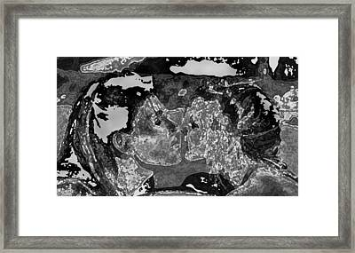 Mother And Daughter Love Framed Print by Shan Peck