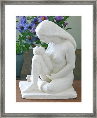 Mother And Infant Framed Print by Deborah Dendler