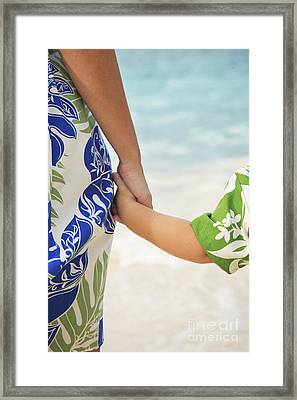 Mother And Son Framed Print by Brandon Tabiolo - Printscapes