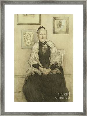 Mother Framed Print by Carl Larsson