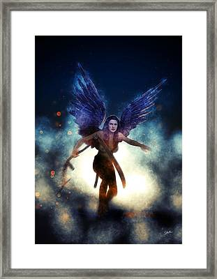 Mother Death Framed Print