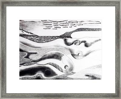 Mother Earth Framed Print by Douglas Pike