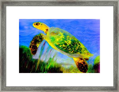 Mother Earth Framed Print by FeatherStone Studio Julie A Miller
